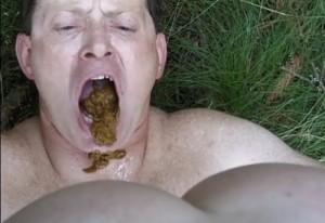 Shit In Face Man