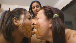 Swallow Whole Scat My Litle Slaves ! By Natasha Brunette