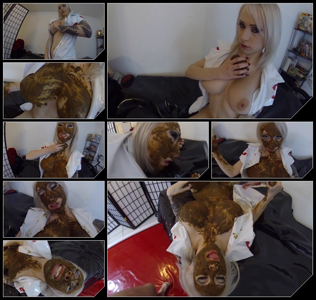 Special_83_Blonde_pooping_licking_shit_and_ma