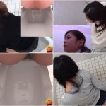 SHITTING A BIG TURD SPYCAM TOILET JAPAN POOPING
