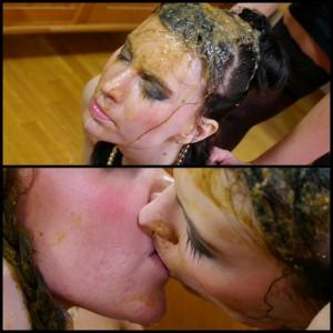 Lesbian Collection 2015 – Honey & Jolene – 75 minute lesbian shit and puke video (Full HD 1080)