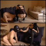 (26.02.2016) FARTING AND SHITTING IN A SLAVE'S MOUTH – FULL HD 1080