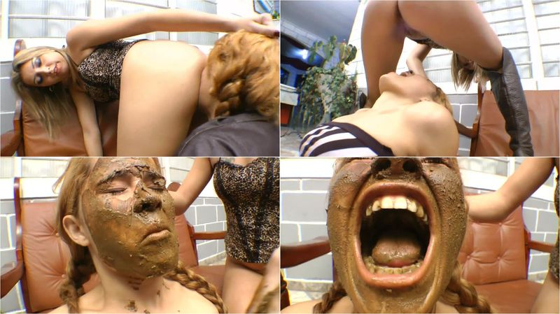 EAT MY SHIT! FULL HD 1080 (Extreme Scat, lesbian, Shit Eating) 2016