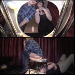 Jenny Gina and toilet slave (Shitting, Slavery, Toilet, toiletslave) Full HD 1080