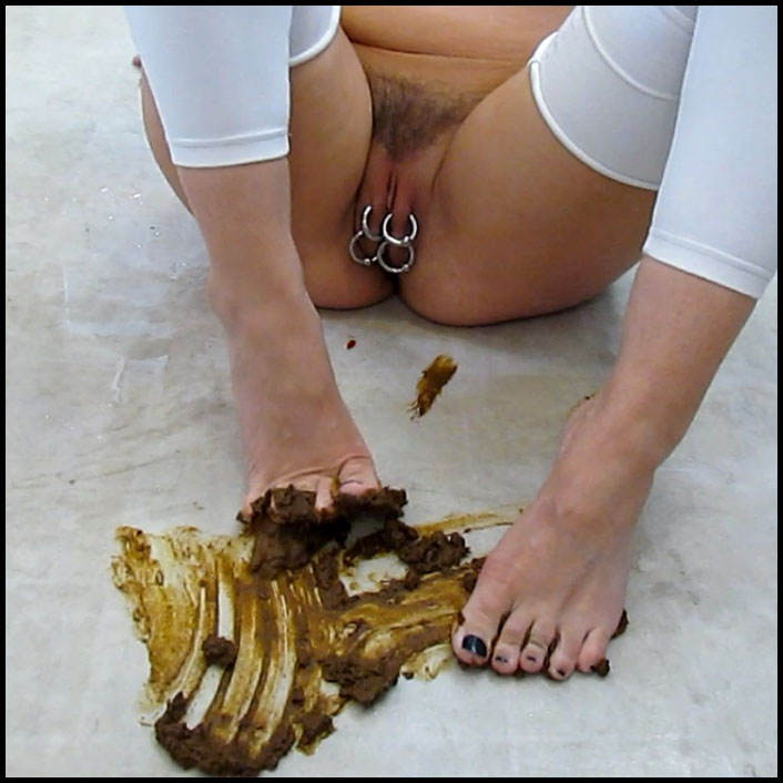 Erotic FRO Piss Scat Foot Smear Full HD 1080 (Solo, Piss, New Scat)