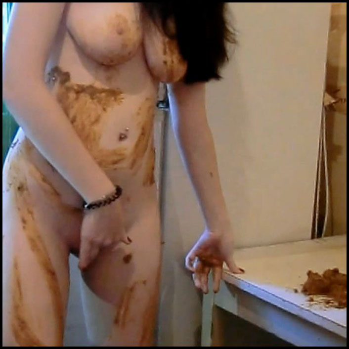 Matilda Kitchen and Bathroom Scat Destruction. Camera 3 (New Release 2016) Full HD 1080