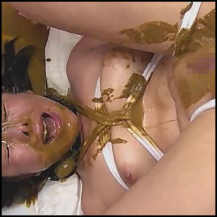 Asian scat bondage