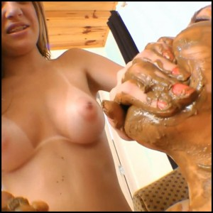 Scat Fight Swallow Real – Top Model Renata Hartman SG-Video (kaviar, brazilian, eat) Full HD 1080