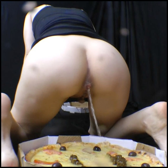 Scat Pizza Real Swallow With 2 Slaves Full HD 1080 (kaviar,	 Scat, swallow) SG-Video