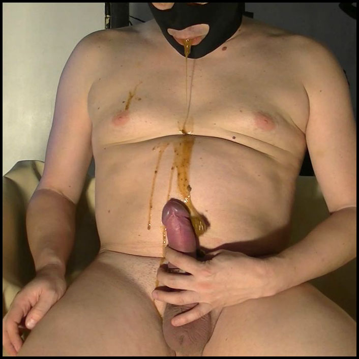 Shit eating in a new mode on lobby Full HD 1080 (11.04.2016) Femdom, Shit Eating, Domination