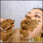 Shit Freak Swallow Domina HD 720 (Lesbian Scat, Poopping, SG-Video)