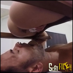 Its mouth Pooped! incl. Closeup View Full HD 1080 (Scat Domination, Human Toilet, Femdom)