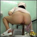 OPUD-207 Defecation Anarumoza No!Long Working Hours Nurse To Take 10 People Hidden!Daikai Legs!Thick!Mass Defecation! !
