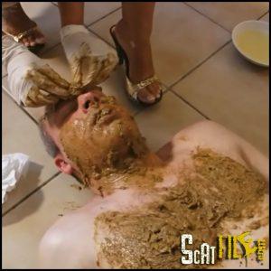Shit Dump Full HD 1080 (Pissing, Femdom, Scat Domination, Human Toilet)