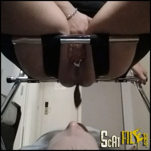 Beginner Swallows Shit Full HD 1080 (Scatting Domination, Human Toilet, Shitting) 21/09/2016