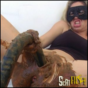 Black Dildo Part 2 Full HD 1080 (Scat, Smearing, Solo Scat, Poopping, Shitting) 18/09/2016