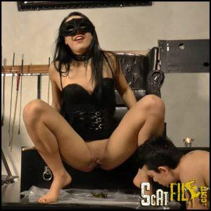 Shit Training Lesson Mistress Gaia – Full HD 1080 (shit eating, Shitting, Toilet, toiletslave) 10/09/2016