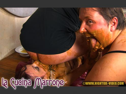 Forced it down her throat cum