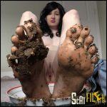 Eat My Shit Off My Feet Foot Fetish Scat Slave DirtyMaryan Full HD 1080 (Poop Videos, Scat, Smearing) 01/12/2016