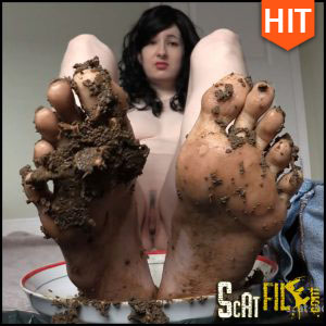 Eat My Shit Off My Feet Foot Fetish Scat Slave DirtyMaryan Full HD 1080 (Poop Videos, Scat, Smearing) 01/12/2016