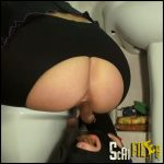 Mistress Emily Scat Living Toilet Full HD 1080 (Scatting Domination, Human Toilet) 14/12/2016
