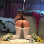 Pooping my Workout Leggings JosslynKane Full HD 1080 (pooping position, pantyhose, Efro) 18/01/2017