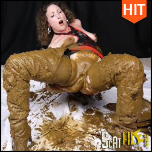 Scat Sexy Thigh High Leather Boots – ScatGoddess (Full HD 1080, Scat, Smearing) 25/01/2017