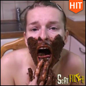 Scat breakfast – scatlovers – shitting ass, scat girls Full HD 1080 (11/04/2017)