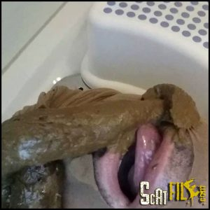 Scat Smoothie From My Asshole – Toilet Humiliation – HD 720p (amateur scat, toilet training) 27/04/2017