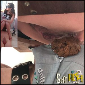 Mistress Anna – Facesitting Scat – Huge Long Shit – Big Lump Of Shit – Loud Farts and Shit – Foul Shit (18/05/2017)
