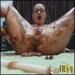 Chocolate With Ella Gilbert – Full HD 1080 (scat games, shitty ass, shitty blowjob, dirty anal play) 05/05/2017