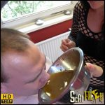 Have a Sip of Manure Soup – scat-movie-world – HD 720p (human toilet, new femdom scat) 11/09/2017