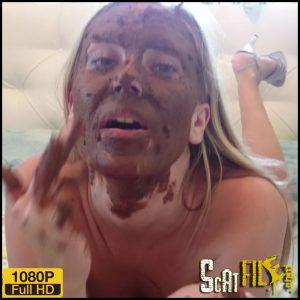 Shit on Self – Brown wife – Full HD 1080 (Poop Videos, Scat Solo, Smearing, defecation, poop) 25/09/2017