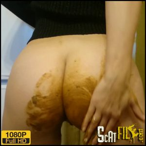 Extreme! Shiting in the Public Hall – Brown wife – Full HD 1080 (Smearing, Panty/Jean Pooping) 29/10/2017
