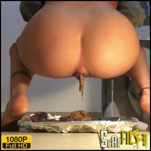 Dinner is served – Emily Jones – Toilet Domination – Full HD 1080 (shit masturbation, dirty anal) 24/12/2017