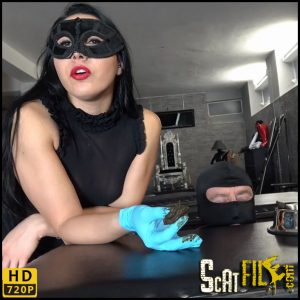 TRAINING MY NEW TOILET SLAVE Part 2 – Mistress Gaia – HD 720p (New femdom scat, piss) 20/12/2017