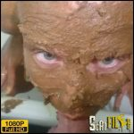 Totally covered in shit. Rarity! – Brown wife – Full HD 1080 (Scat solo, Russian girl, big poop) 12/12/2017