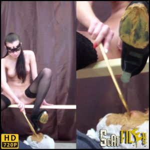 Big pile of shit is feeding – Smelly Milana – HD 720p (scatting domination, femdom, toilet slavery) 03/02/2018