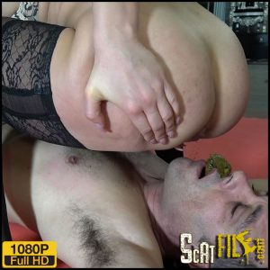 GAGGING FOR MY SHIT – Mistress Gaia – Full HD 1080 (New Scat and Piss Femdom, Domination) 18/02/2018