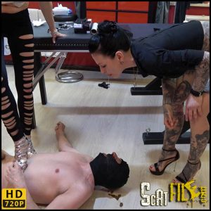 A high heel in the cock – scat-movie-world – HD 720p (human toilet, scat, scatting domination) 10/03/2018