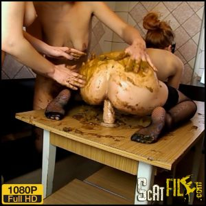Let's have a dirty girl show – ModelNatalya94 – Full HD 1080 (lesbian scat girls, extreme scat) 20/03/2018