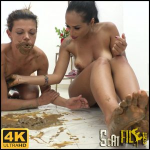 Feeding my slave – NewMFX Scat – 4K Ultra HD  (MF-7229-1, Diana, Alana, NewScatinBrazil) 20/04/2018