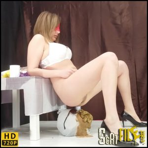 3 Mega big heaps. New game for girls – Smelly Milana – HD 720p (Toilet Slavery, Femdom scat) 12/05/2018