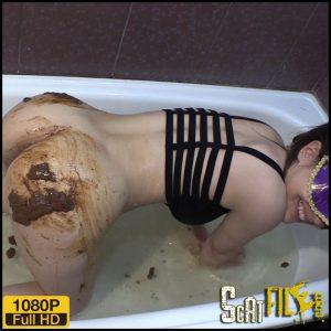 Princess Mia Scat Smearing – Princess Mia and toilet slave – Full HD 1080 (Bathroom scat) 21/06/2018