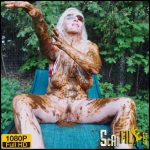 Scat Sun Tan – Abbraxa – Full HD 1080 (scat solo, defecation, scatology, poop, shit, kaviar scat) 25/06/2018