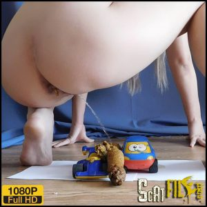 Fetish socks and toys with shit – KatyaKASS – Full HD 1080 (Poop Videos, Pee porn, Big shit pile) 18/06/2018