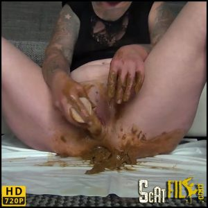 Shit, smoking and selfmade – caviar pur – Annissa-Yara – HD 720p (Scat Solo, Amateurs Scat) 13/06/2018
