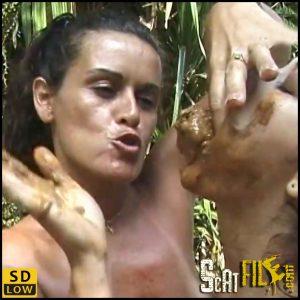 WILD SCAT AND ATOMIC TONGUE – LM-55-1 (Chris, Scat Lesbian, Domination scat porn, new scat) 06/06/2018
