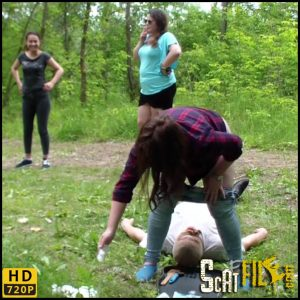 Shit-Dog for 5 girls – MilanaSmelly – HD 720p (Poop Videos, Scat, Smearing, Toilet Slavery) 20/07/2018