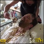 Two mistress stuffed himm with shit – SuzanDirty – Vomiting porn